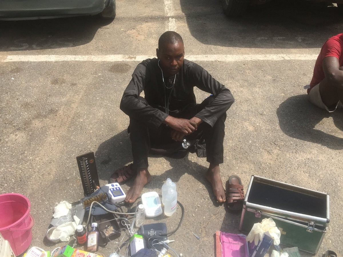 Lagos state police command Edgal Imohimi Medical Doctor Fake fur years