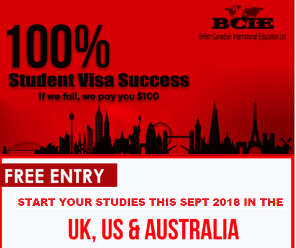 study in the UK, USA and Australia in 2018