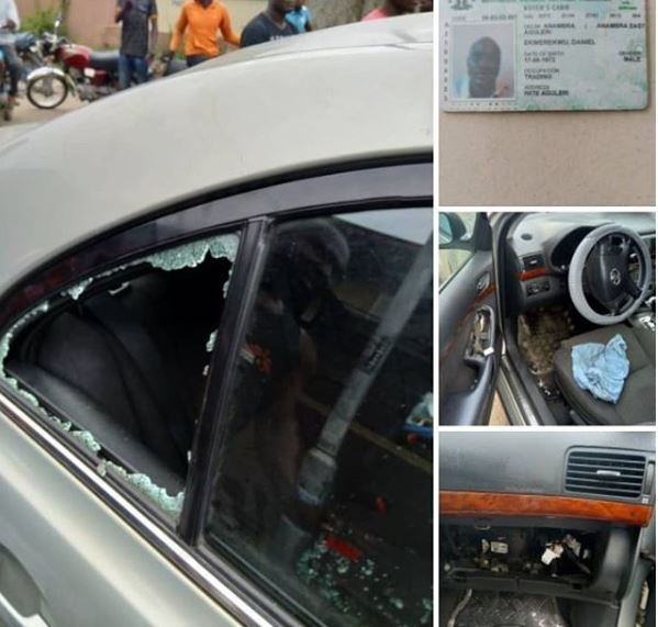 Lagos Police issues statement the death of acar thief whoslipped off a wall,landed on a cemented floor and broke his skull