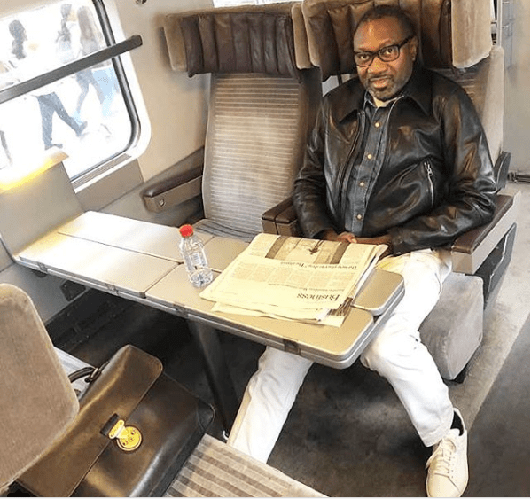 Nigerian billionare, Femi Otedola kicks off his annual three months vacation, heads to Paris (Photo)