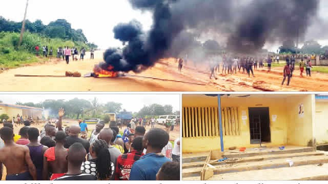 Two killed, journalist seriously injured as police, irate youths clash in Anambra over death of 17-year-old boy