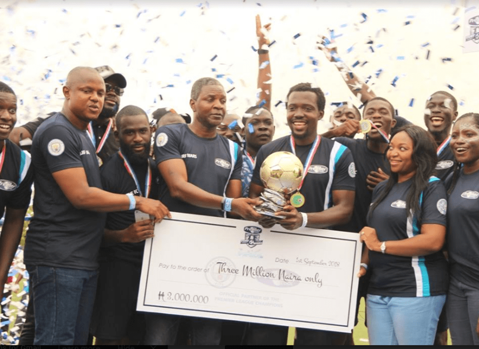 #PremierCoolTurfWars  Fast Five FC Emerge VictoriousBag trophy and cash prize of N3million!