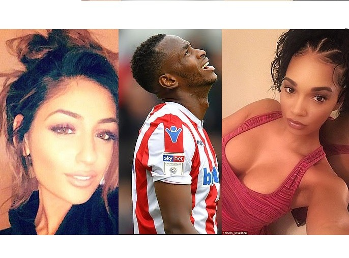 Stoke City striker Saido Berahino, 25, who is struggling for goals after only netting twice in 913 days has 'fathered 3 babies born to three different mothers over a six-week period'