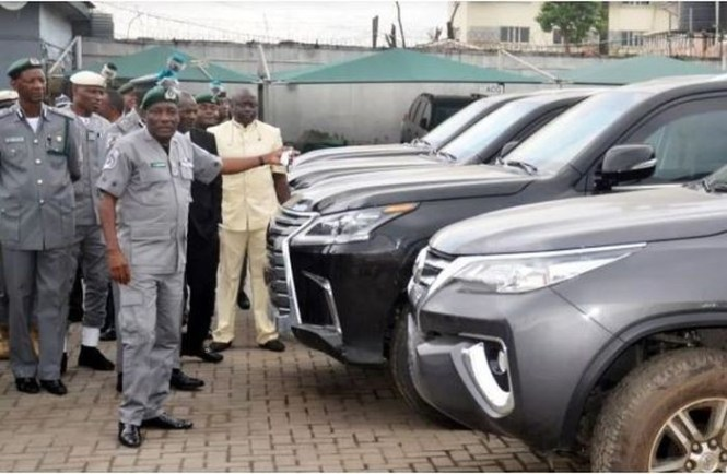 Nigeria customs seizes9 expensive bulletproof cars worth N1.2 billion