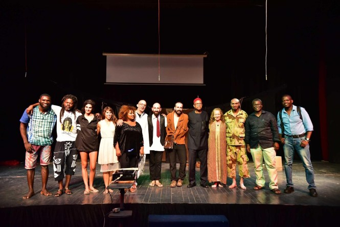 How African-Israeli stage brought Wole Soyinkas A Dance Of The Forests to life  at the MTN Sponsored Eko Theatre Carnival 2018.