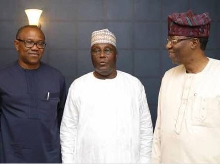 Dele Momodu, Ben Bruce, others congratulate Peter Obi on his emergence at Atiku's running mate for 2019