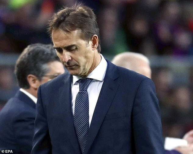 Real Madrid 'to sack Julen Lopetegui on tonight' after humiliating 5-1 defeat by Barcelona in Sunday's El Clasico