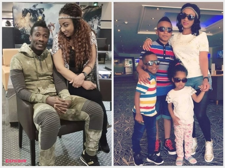 Footballer Asamoah Gyan files for divorce from his wife of 5-fives, demands DNA Test to prove he's the father of their children