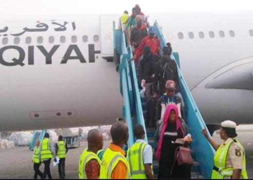 141 Nigerians including 11 pregnant women voluntarily returnfrom Libya