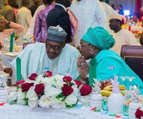 Aisha Buhari hosts artistes supporting PresidentBuhari (Photos)