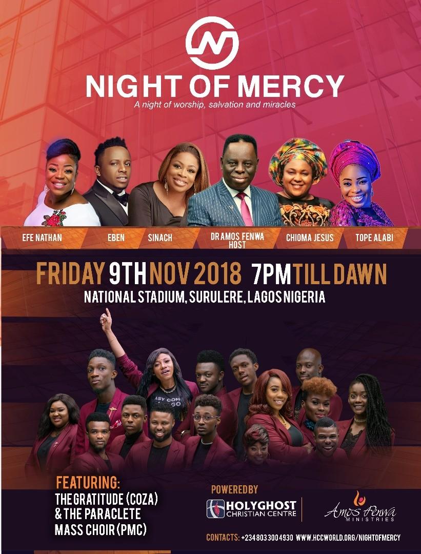 Night of Mercy 2018
