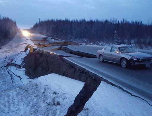 7.0 magnitude earthquake strikes Alaska (Photo)
