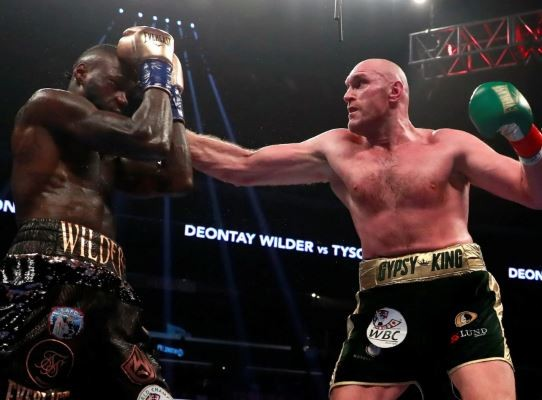 Deontay Wilder and Tyson Fury's world heavy weight fight ends in a draw