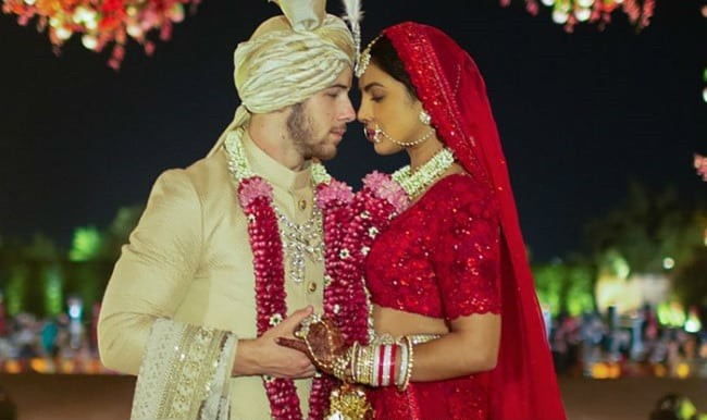 Actress Priyanka Chopra takes her husband's last name on Instagram after marriage to Nick Jonas