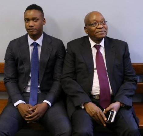 South African government provisionally withdraws corruption charges against Zuma's son,Duduzane