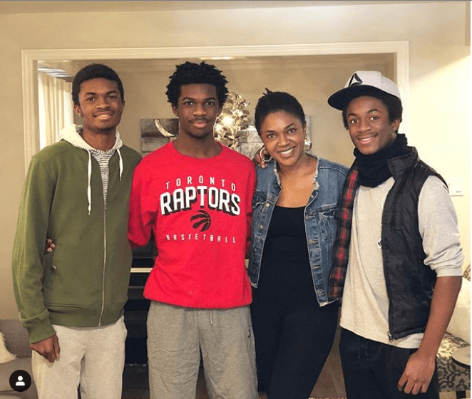 'I have everything' - Omoni Oboli says as she shares adorable photo with her handsome sons