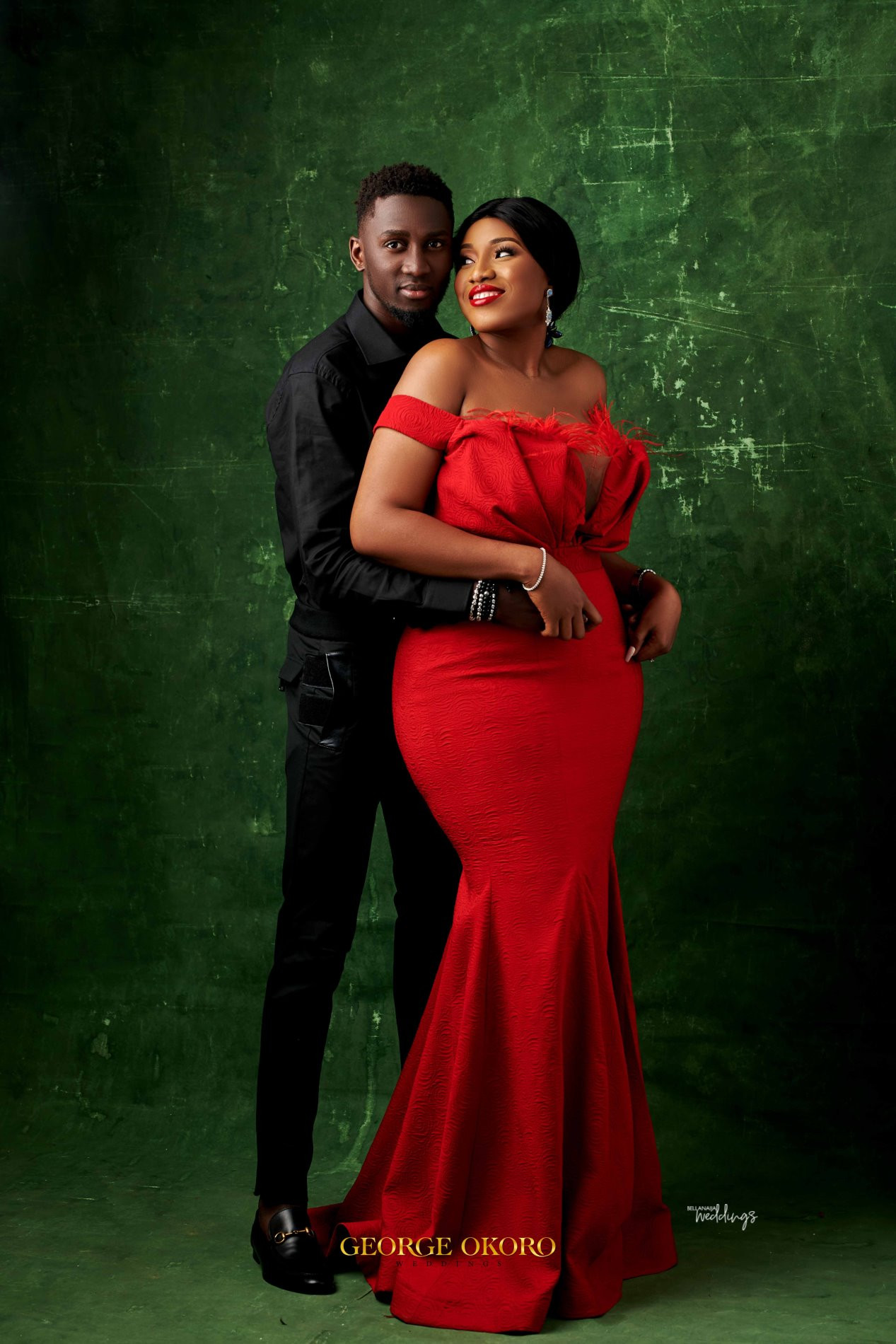 930d027b334 The post Check out stunning pre-wedding photos of Super Eagles star Wilfred  Ndidi and his lover