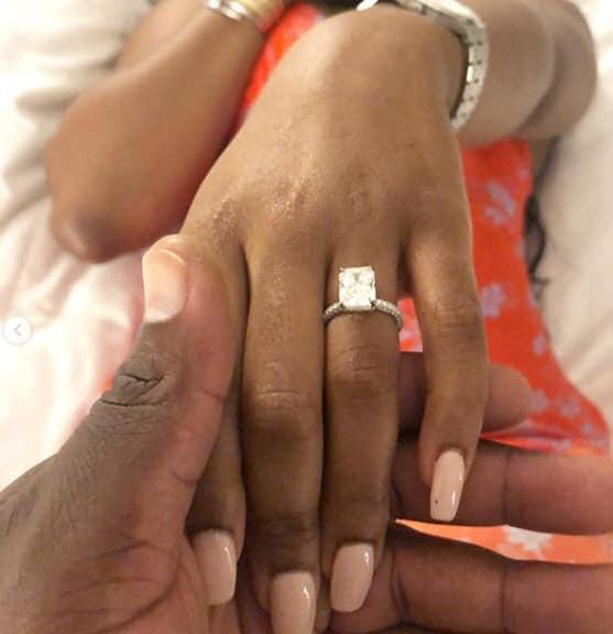 Davido's brother, Adewale Adeleke proposes to his girlfriend, Kani lindaikejisblog 1