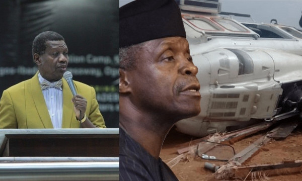 What God told me about Osinbajo's helicopter crash — Pastor