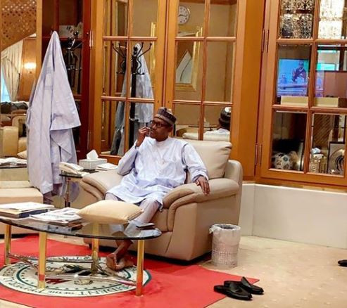 Bashir Ahmad wonders why 'people are genuinely angry because of this innocent photo' of President Buhari