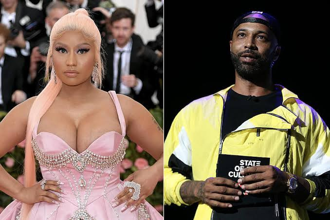 """""""Youre used to dealing with stupid people, youre not gonna outsmart me"""" -Nicki Minaj kicks Joe Budden off her radio show after heated argument"""