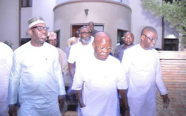 Selfish forces behind rift with Obaseki  Oshiomhole lindaikejisblog