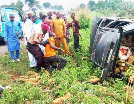 25 people were killed in 10 road crashes in different parts of Niger state during the Eid-el-Kabir celebration - FRSC