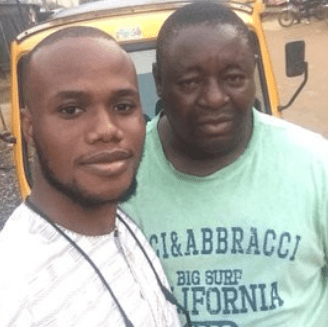 Keke rider hailed on Twitter after he returns iPhone a passenger forgot in his tricycle (photos)