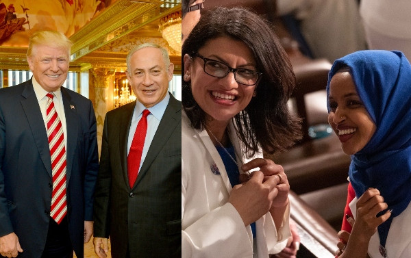 President Trump tweets that Israel should deny two US Muslim lawmakers entry into their country, and they did