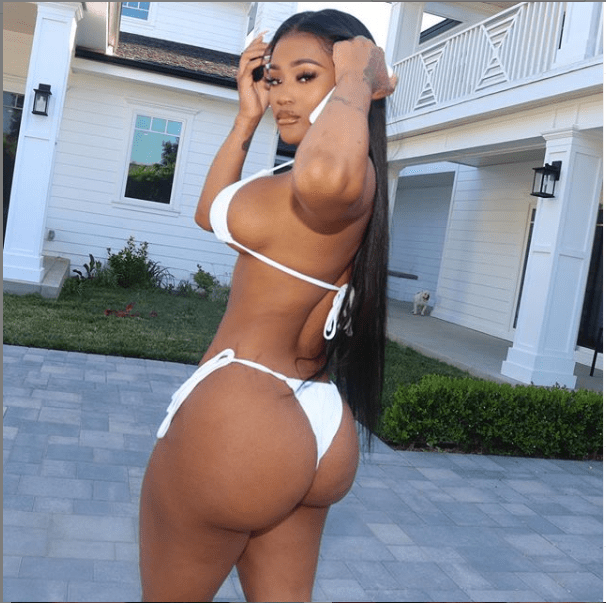 Lira Galore puts her bikini body on display in new photos.