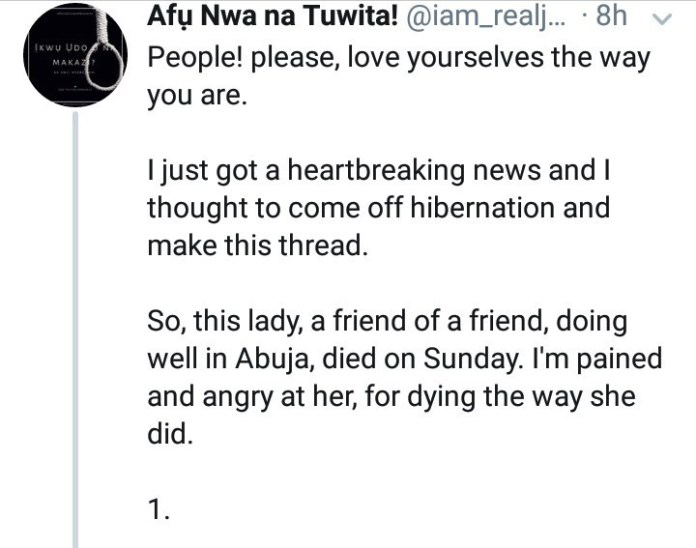 """""""Boisterous"""" Nigerian woman allegedly dies while undergoing liposuction in an Abuja hospital"""