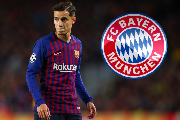 Philippe Coutinho agrees to join German champions Bayern Munich on loan from Barcelona