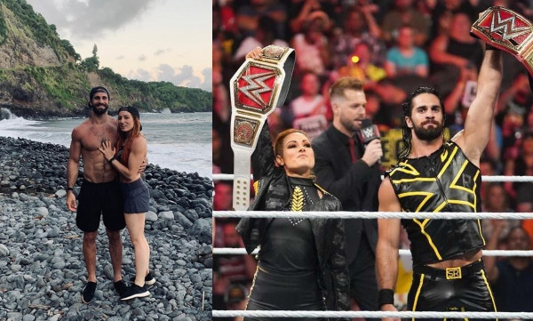 , WWE's Seth Rollins and Becky Lynch, engaged, All 9ja
