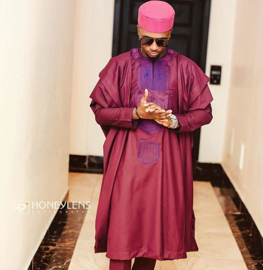Photos of all the ex-Big Brother Naija housemates that attended BamBam and Teddy A's traditional wedding