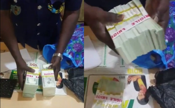 Ghana Police alleges some Nigerians attempted to smuggle in fake dollars into the country lindaikejisblog