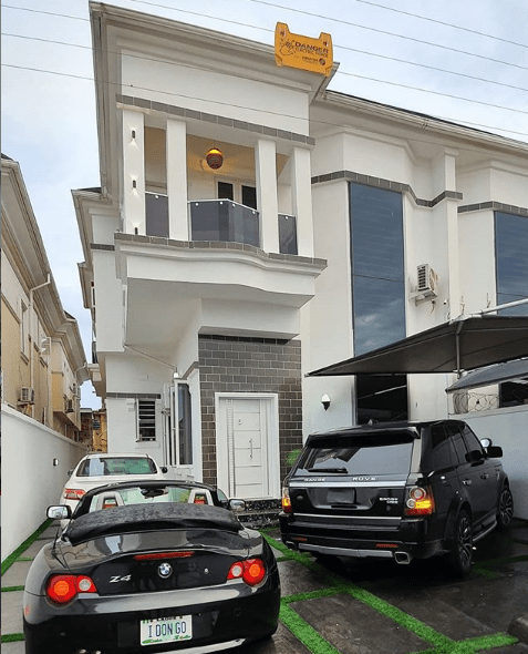 Comedian Ogusbaba becomes a house owner in Lekki, shares a photo of his first rented apartment in Enugu lindaikejisblog 3