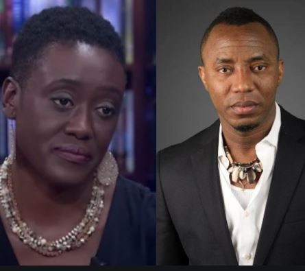 Image result for images of Omoyele Sowore and wife