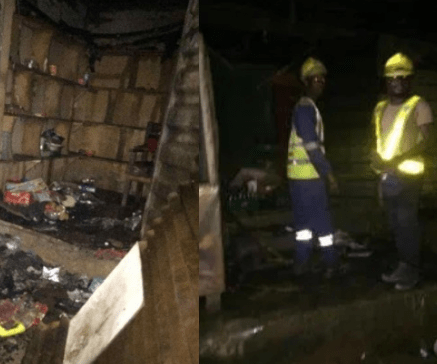 No casualtiesas late night fire destroys manyshops in Lagos gas explosion