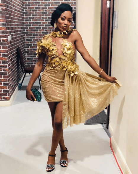 #BBNaijaFInale: Here's howVenita, Sir Dee, Cindy, other housemates turned up (Photos)