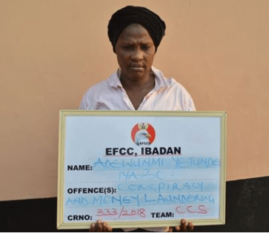 51-year-old female banker sentenced to one year imprisonment for conspiracy, aiding and abating fraud