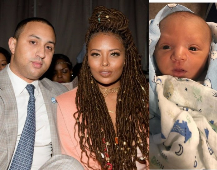 Eva Marcille shares new pics of her newborn son