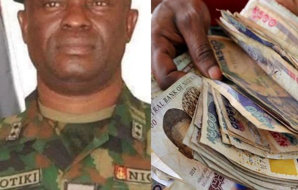 N135m recovered from Nigerian Army General before court martial lindaikejisblog