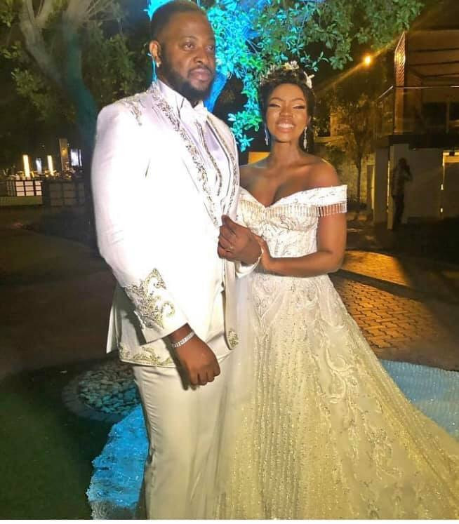 More photos and videos from BamBam and Teddy A's white wedding in Dubai lindaikejisblog 1