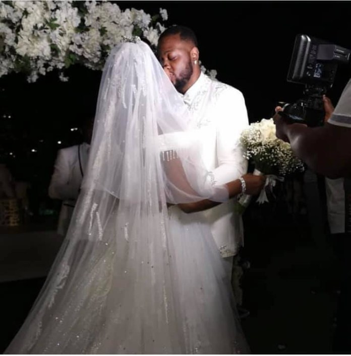 More photos and videos from BamBam and Teddy A's white wedding in Dubai lindaikejisblog 2