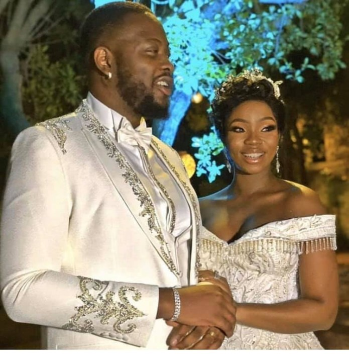 More photos and videos from BamBam and Teddy A's white wedding in Dubai lindaikejisblog 4