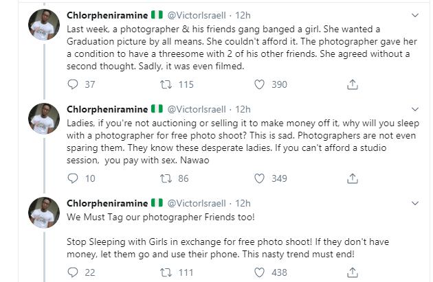 Nigerian ladies allegedly sleeping with photographers for free photoshoot lindaikejisblog 2