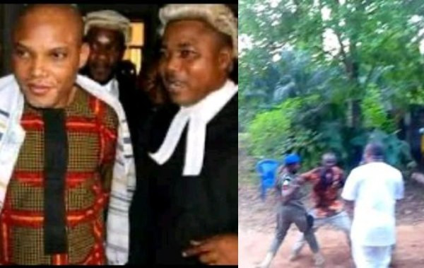 Two allegedly feared dead as Police invade Nnamdi Kanus lawyers home lindaikejisblog