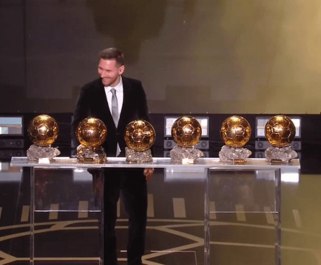 Lionel Messi wins sixth Ballon d'Or as he breaks ties with his arch-rival Cristiano Ronaldo