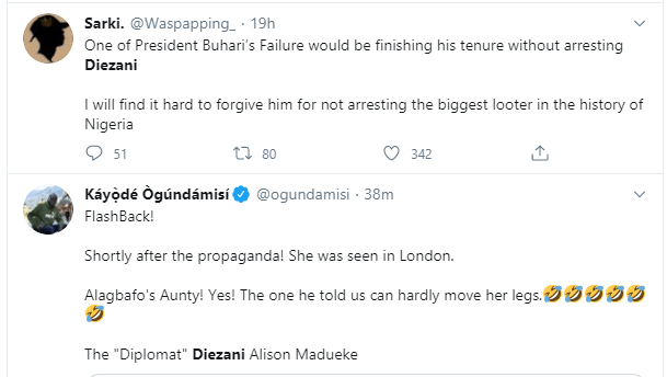 Nigerians react to former Minister of Petroleum, Diezani Alison-Madueke 'not being extraditable' after acquiring Dominican citizenship lindaikejisblog7