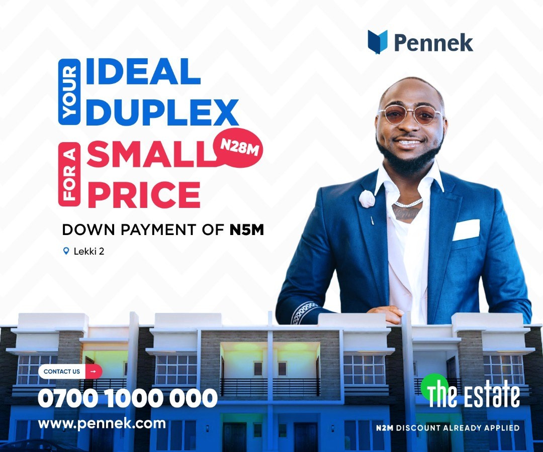 Most Affordable Duplex in Lekki You Can Own with 5m down payment